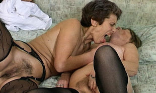 sapphic grannie fake penis sharing