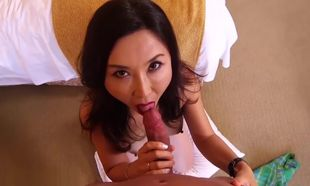 Luxurious Chinese Cougar DOES Porno..