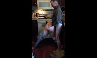 Husband drills fleshy small wifey in..