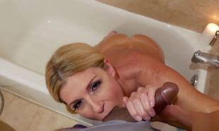 India Summer gives her sonny  Oral..