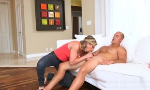 Lily Rader finds Cougar Cory Pursue..