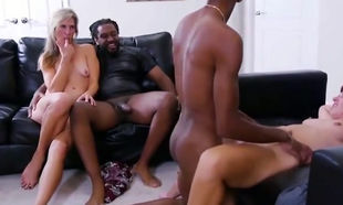 individual 2x2 swingers bi-racial soiree
