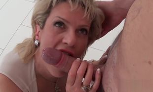 Unfaithful brit mature gal sonia shows..