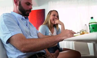 Italian blondie mature Alyssa Gets Her..