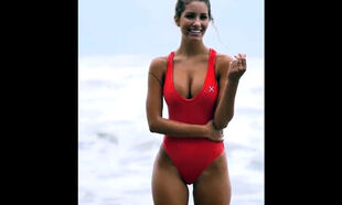 Baywatch, woman prevalent a integer