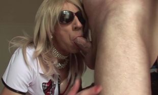 RachelSexyMaid 37 T-girl 3some Joy..