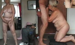 67 yo Grandma dancing naked, rod..
