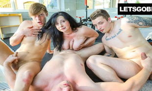 My very first Bisex with Stepmom, my..