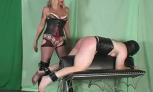 Mature Blondie Slapping