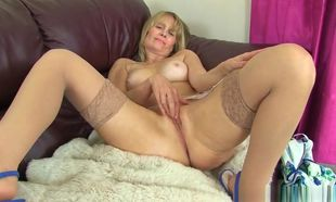 Brit Cougar Ila Jane Exposes Her..